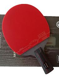 3 Stars Ping Pang/Table Tennis Rackets Ping Pang Rubber Short Handle Raw Rubber