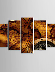 Canvas Set Abstract Famous Style Classic,Five Panels Canvas Any Shape Print Wall Decor For Home Decoration