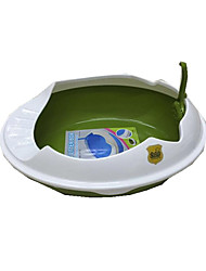 Cat Cleaning Baths Pet Grooming Supplies Portable Green Plastic
