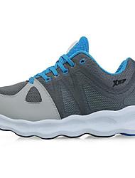 X-tep Tenisky Běžecké boty Pánské Protiskluzový Anti-Shake Nositelný Prodyšné Výkon PVC kůže Guma Běhání Volnočasové sporty