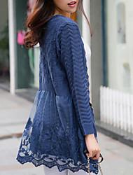 Women's Casual Long Sleeve Cardigan , Cotton/Knitwear Medium SF8B27