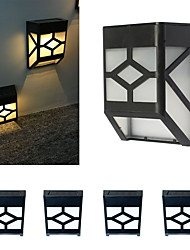 Solar Lights 4LED Solar Fence Lights Sink Lights Home Solar Night Light