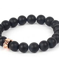 Women's Strand Bracelet Beaded Gemstone Agate Jewelry For Casual