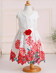 Girl's Casual/Daily Floral Dress Summer Spring Fall Sleeveless