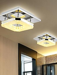 8 Flush Mount ,  Modern/Contemporary Electroplated Feature for LED Metal Living Room Bedroom Dining Room