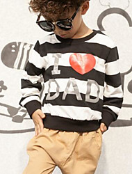 Boy Casual/Daily Striped Blouse,Rayon Spring Fall Long Sleeve