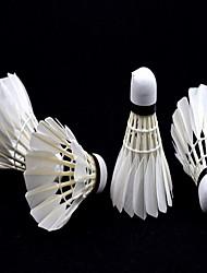 badminton Peteca com Penas Peteca de Badminton Durável para Penas de Pato