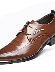 Men's Shoes Libo New Style Hot Sale Casual / Party Comfort Low Heel Classic Oxfords Brown / Black