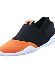 Черный Оранжевый Светло-зеленый-Мужской-Повседневный-Ткань-На плоской подошве-Удобная обувь-Мокасины и Свитер