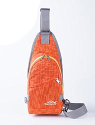 Bolsa de Ombro Bolsa Transversal para Acampar e Caminhar Viajar Ciclismo Corrida Cooper Bolsas para EsporteÁ Prova-de-Água Zíper á