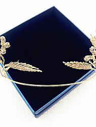 Women's Alloy Cubic Zirconia Headpiece-Wedding Tiaras 1 Piece