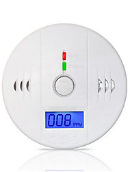 85dB Warning High Sensitive LCD Photoelectric Independent CO Gas Sensor Carbon Monoxide Poisoning Alarm Detector