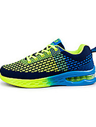 Men's Athletic Shoes Spring Fall Other Other Animal Skin Outdoor Low Heel Lace-up Blue Green/Blue Orange Walking