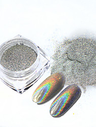 Shining Nail Art Glitter Powder Dust Sparkly Glitter Pigment For Art Decorations Nail Beauty Tools 003T
