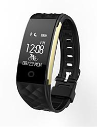 IP67 dinámico movimiento del sueño monitorización del ritmo cardíaco paso bluetooth pulsera inteligente recordatorio portátil impermeable
