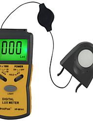 numérique lcd luxmètre luxmètre éclairement posemètre lux fc (0.1Lux ~ 200,000lux)