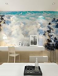 JAMMORY Spectacular Sea Reef Wallpaper Personality Wallpaper Mural  Wall Covering Canvas Material Golden Church XL XXL XXXL
