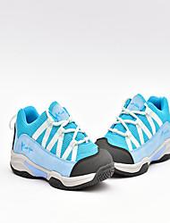 Feminino-Tênis-Outro ConfortoRosa Azul Claro Cinzento Claro-Camurça Tule-Ar-Livre Escritório & Trabalho Social Casual Para Esporte