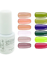 yemannvyou®sequins de color de uñas de gel UV no.85-96 polaco (5 ml, colores surtidos)