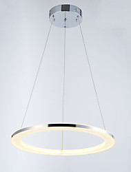 LED Pendant Light Fixtures Hanging Lighting Lamp with Round Ring D50CM 18W CE FCC ROHS