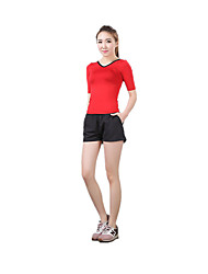 Women's Running Shorts Quick Dry Breathable Shorts for Yoga Exercise & Fitness Leisure Sports Running Terylene LYCRA® Tight S M L XL