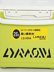 Caixas de Pesca Caixa de Derrube Impermeável 1 Bandeja 51*31*42 PE Couro Ecológico