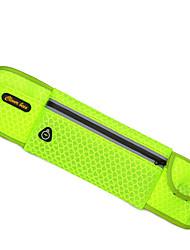 Pochete Bolsa de cinto para Acampar e Caminhar Viajar Ciclismo Corrida Cooper Bolsas para EsporteÁ Prova-de-Água Á Prova-de-Chuva Zíper á