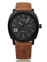 Man CURREN Military Sport High-Grade Belt Quartz Watch