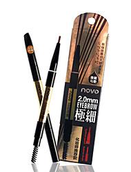 NOVO® Eyebrow Pencil Dry Long Lasting / Waterproof / Natural