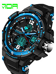 Man Was Double Cold Waterproof And Shockproof Multifunctional Climbing LED Electronic Watch