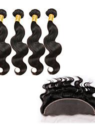 5 Stück Große Wellen Menschliches Haar Webarten Brasilianisches Haar 100g or 50-75g 8-30inch Haarverlängerungen