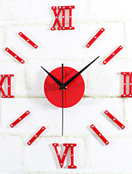 DIY Fashion Creativity Modern Rome Digital Mute Wall Clock