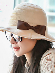2017 New Spring Bow COTTON HAT NEW Beanie Female Elegance Folding Hat