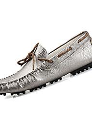Hombre-Tacón Plano-Confort-Calzado de Barco-Informal-PU-