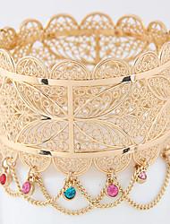 Women's Bangles Alloy Fashion Bohemia Jewelry Golden Jewelry 1pc