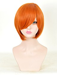 Cosplay Wigs Movie Cosplay Orange Wig Halloween Christmas Carnival Unisex