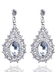 European Fashion Boutique Full Diamond Crystal Earrings