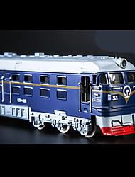 Züge Pull Back Fahrzeuge 1:10 Metall Plastik Blau