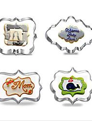 Moule de Cuisson Pour Gâteau Pour Cookie Pour Tarte Acier Inoxydable Bricolage Haute qualité