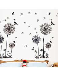 Romantic Dandelion bBedroom Living Room Wall