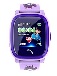 DF25 Smart Watch Wear Color Touch Screen Remote Monitoring Children's Phone Bracelet Waterproof Watch  GPS / LBS Positioning  SOS Help