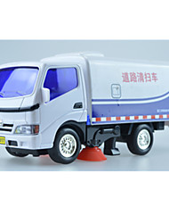 Truck Pull Back Vehicles 1:24 Metal Plastic Navy Blue