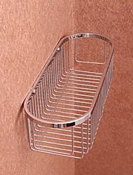 Полка для ванной / ХромНержавеющая сталь /Современный