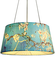 Fabric Pendant Lamp  Modern/Contemporary Others Feature for Designers Metal Living Room Bedroom Study Room/Office