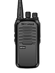 commerciale professionnelle talkie-walkie sans fil 6w uhf 403-480mhz de Wanhua