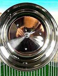 Roedores Rodas de Exercício Metal Prateado
