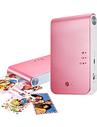 lg pd239p téléphone mobile imprimante photo portable rose or blanc