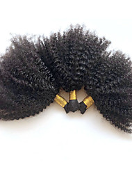 3pcs/lot 12-30 Mongolian Virgin Hair Kinky Curly Bulk Hair No Attachment Afro Kinky Curly Bulk Hair For Braiding
