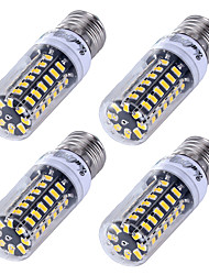 YouOKLight 4PCS Dimmable 5W E27  5733 LED corn bulb intelligent IC control three-segmented dimmable LED light Warm White/White Light 220V