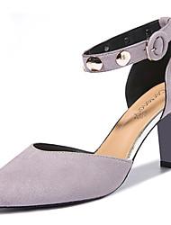 Women's Heels Spring Summer Comfort Leatherette Wedding Party & Evening Dress Low Heel Black Pink Other